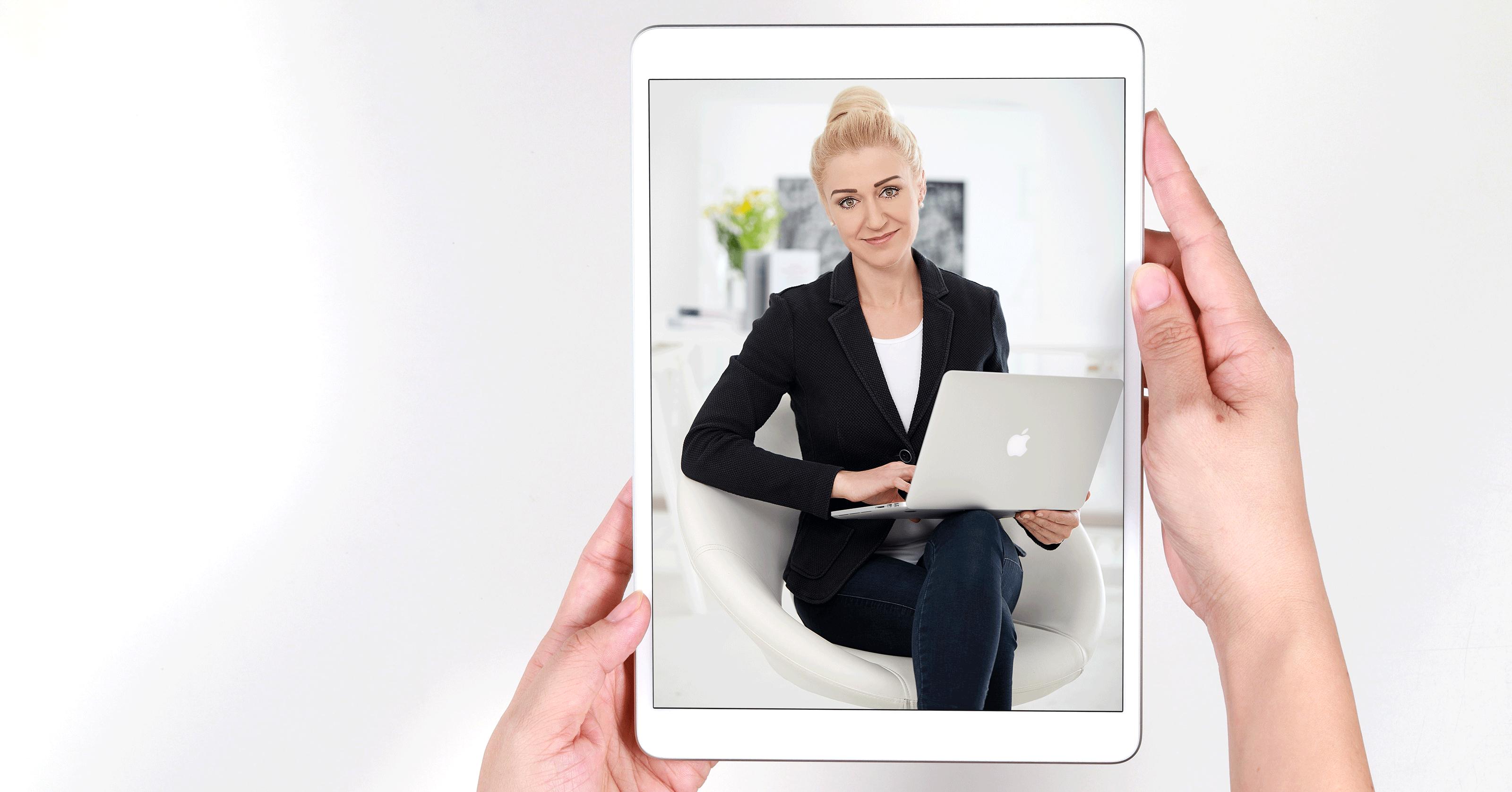 COVID-19 Corona Krise Psychotherapie Videotelefonie Zoom Skype Signal Facetime Heidi Steinberger-Daveid Online-Therapie